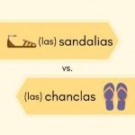 sandalias - chanclas Spanish