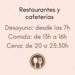 Restaurants in Spain