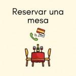 reservar mesa restaurante Spanish