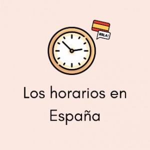 times in Spain