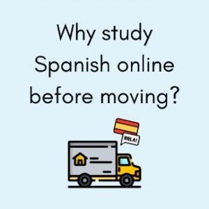 study spanish online before