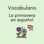 primavera español